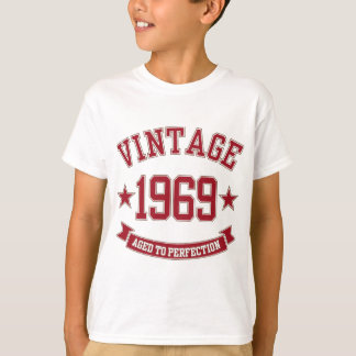 1969 Vintage Aged To Perfection T-Shirt