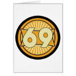 1969 - Yellow Greeting Card