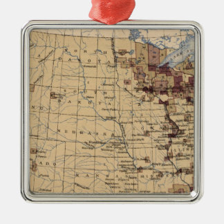 196 Value lumber, timber/sq mile Christmas Ornament