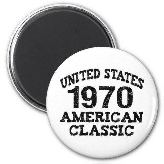 1970 40th Birthday Magnet