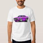 1970-72 Challenger Purple Car Tshirts