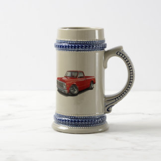 1970-72 Chevy C10 Red Truck Beer Steins
