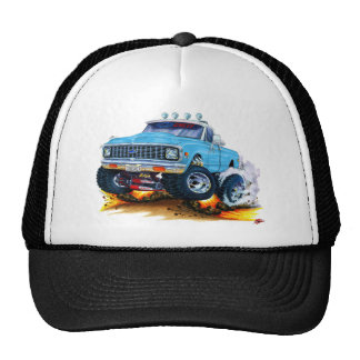 1970-72 Chevy CK1500 Lt BlueTruck Mesh Hat
