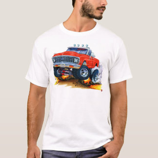 1970-72 Chevy CK1500 Red Truck T-Shirt