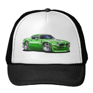 1970/72 Trans Am Green Car Mesh Hat