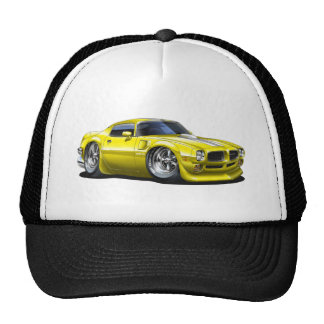 1970/72 Trans Am Yellow Car Mesh Hat
