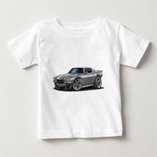 1970-73 Camaro Silver/Grey Car Baby T-Shirt