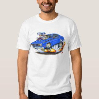 1970-74 Plymouth Duster Blue Car Tee Shirt