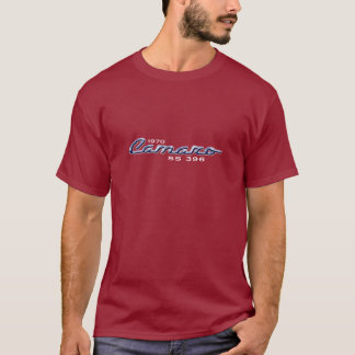 1970 Camaro SS 396 Chrome Emblem T-Shirt