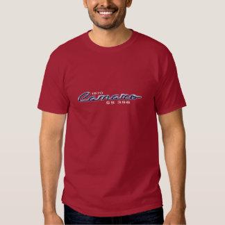 1970 Camaro SS 396 Chrome Emblem Tshirt