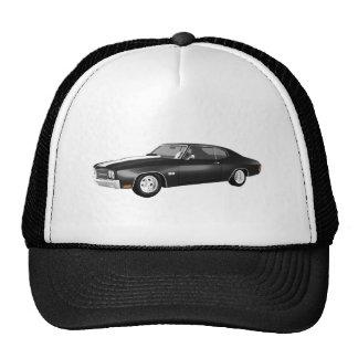 1970 Chevelle SS: Black Finish: Cap