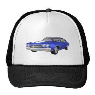 1970 Chevelle SS: Blue Finish: Cap