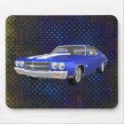 1970 Chevelle SS: Blue Finish: Mousepad