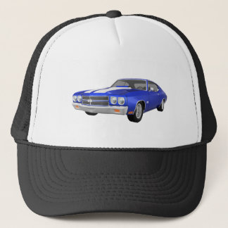 1970 Chevelle SS: Blue Finish: Trucker Hat