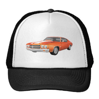 1970 Chevelle SS: Orange Finish: Cap