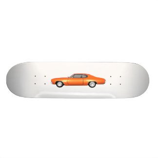 1970 Chevelle SS: Orange Finish: Skateboard