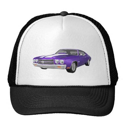 1970 Chevelle SS: Purple Finish: Hats