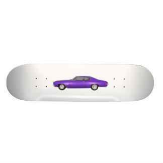 1970 Chevelle SS: Purple Finish: Skateboard