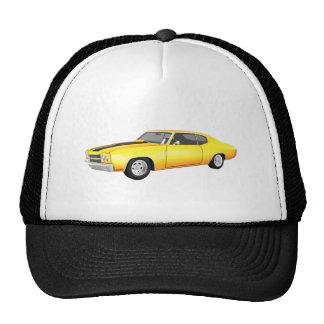 1970 Chevelle SS: Yellow Finish: Cap