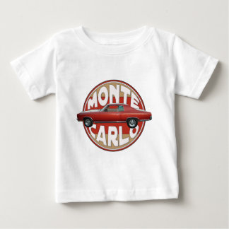 1970 Chevy Monte Carlo Red Line Tee Shirts