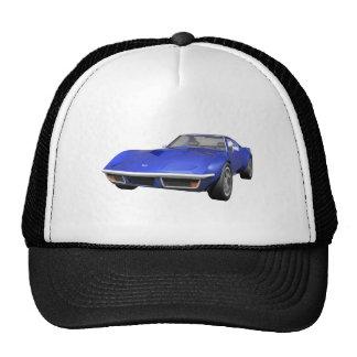 1970 Corvette Sports Car: Blue Finish Cap