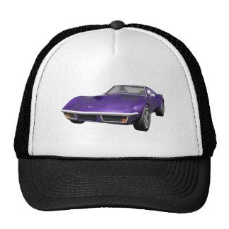 1970 Corvette Sports Car: Purple Finish: Cap