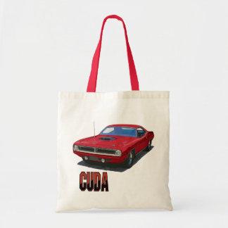 1970 Cuda Coupe Budget Tote Bag