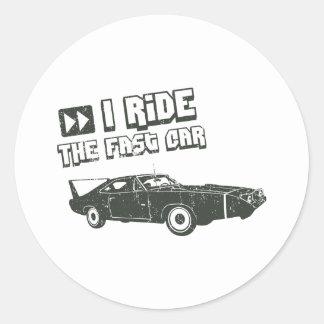 1970 Dodge Charger Daytona Hemi Sticker