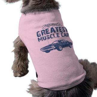 1970 Dodge Hemi Challenger Sleeveless Dog Shirt