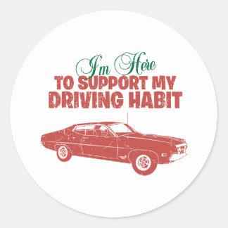 1970 Ford Torino Cobra 429 Classic Round Sticker