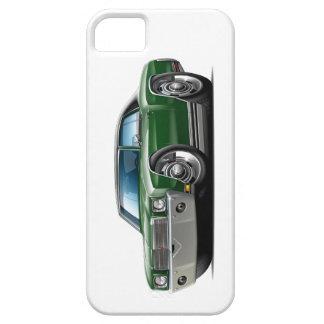1970 Monte Carlo Dk Green-Black Top Car iPhone 5 Case