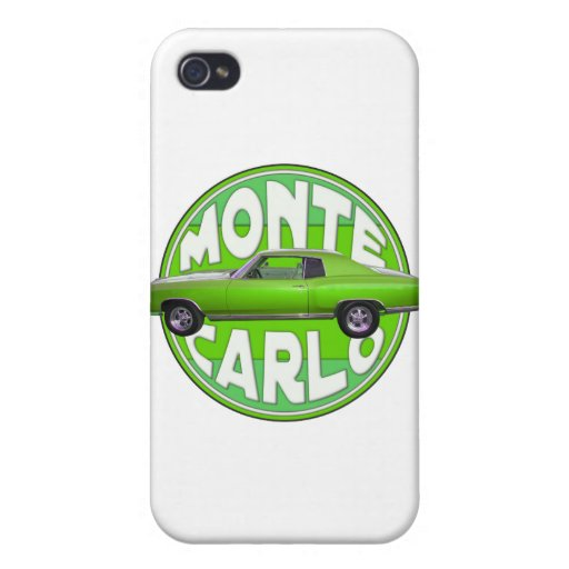 1970 monte carlo green machine covers for iPhone 4