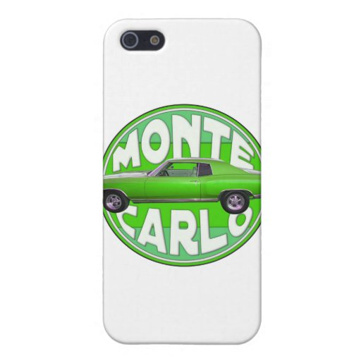 1970 monte carlo green mamba case for iPhone 5