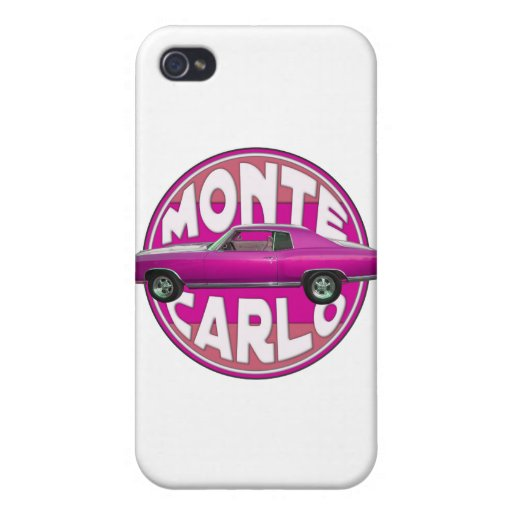 1970 Monte Carlo in the Pink iPhone 4/4S Case