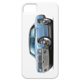 1970 Monte Carlo Lt Blue-Black Top Car Case For The iPhone 5