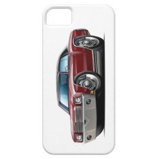 1970 Monte Carlo Maroon-Black Top Car iPhone 5 Cases