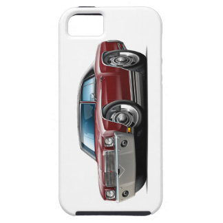 1970 Monte Carlo Maroon-Black Top Car iPhone 5 Covers