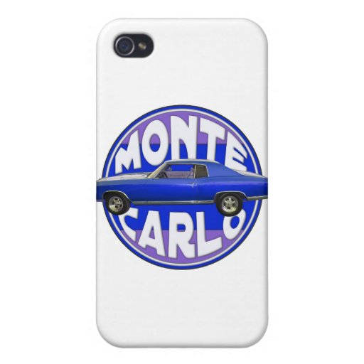 1970 monte carlo midnight blue cases for iPhone 4