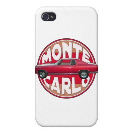 1970 Monte Carlo Red Case For iPhone 4