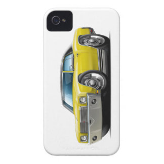 1970 Monte Carlo Yellow -Black Top Car Case-Mate iPhone 4 Case