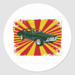 1970 Oldsmobile 442 Round Sticker