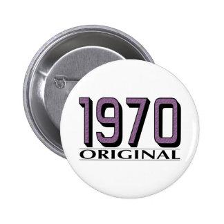 1970 Original 6 Cm Round Badge