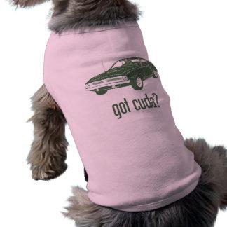 1970 Plymouth Hemi Cuda Sleeveless Dog Shirt
