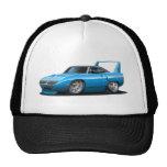 1970 Plymouth Superbird Blue Car Trucker Hat