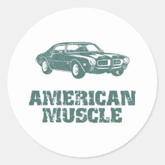 1970 Pontiac Firebird 400 Ram Air Round Sticker