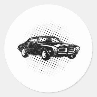 1970 Pontiac Firebird 400 Ram Air Sticker