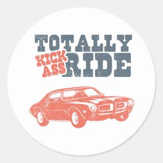 1970 Pontiac Firebird 400 Ram Air Round Stickers
