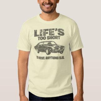 1970 Pontiac Firebird 400 Ram Air Tee Shirt