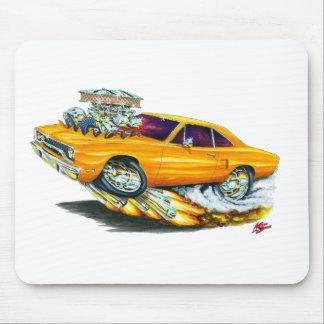 1970 Roadrunner Orange Car Mouse Pad