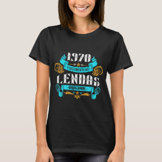 1970 the Birth of Legends v2 Feminine T-Shirt